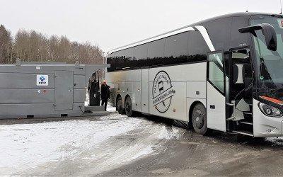 Tankstation Ellös Buss