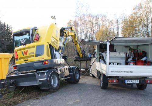 Pickuptank Per Johansson Entreprenad