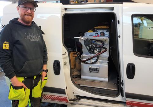 Pickuptank Hilbertsson Entreprenad