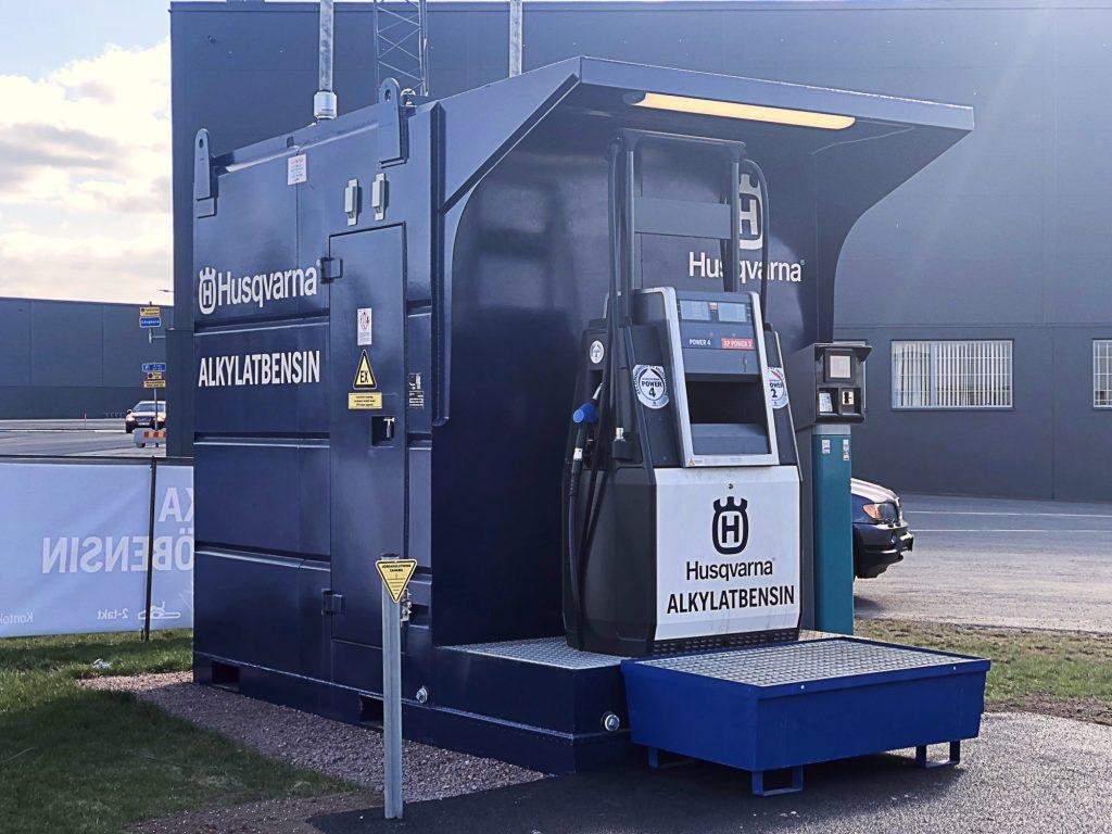 Tankstation – Söderström Skog & Trädgård AB