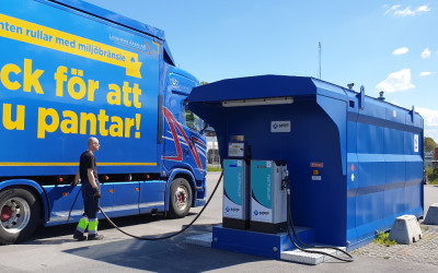 Tankstation Linghem Åkeri